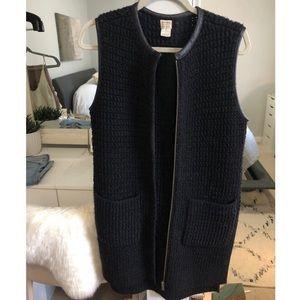 Club Monaco X M Patmos Long Wool Vest